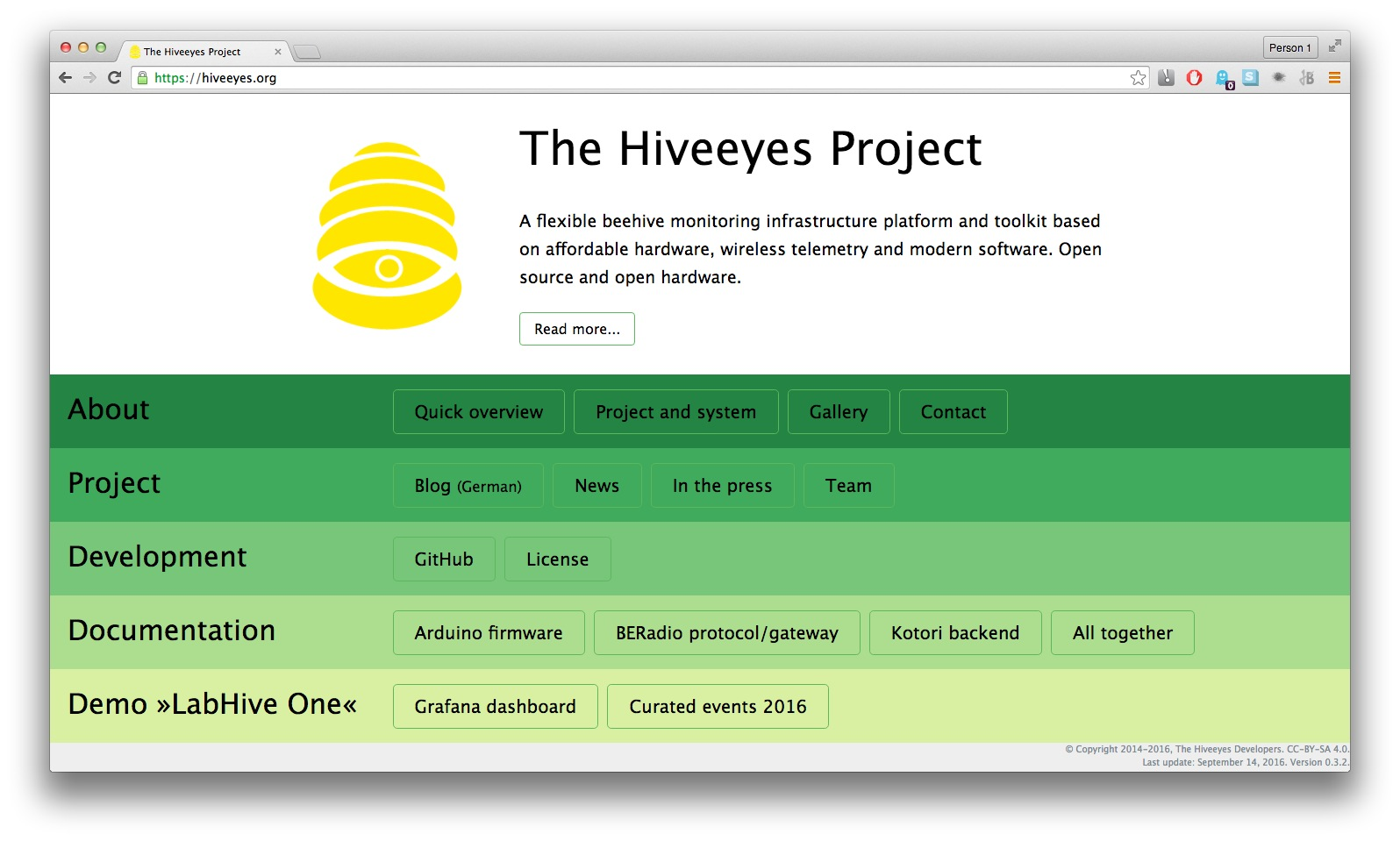 Hiveeyes Website